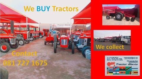 Used Tractors-WE BUY TRACTORS