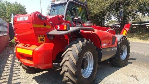 2016 Manitou MT-X1740 SLT Telehandler with 600hours