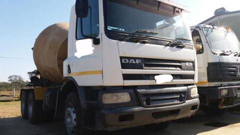 2008 DAF mixer truck