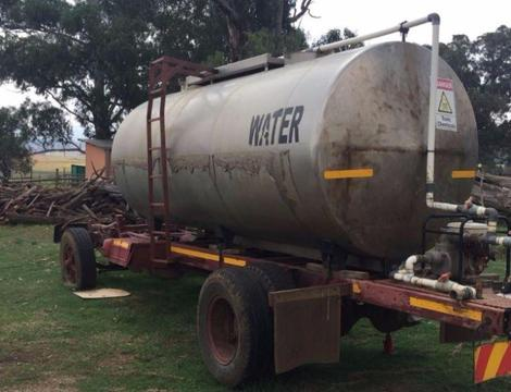 Stainless Steel Tank and Fiat 602 Truck spares for sale