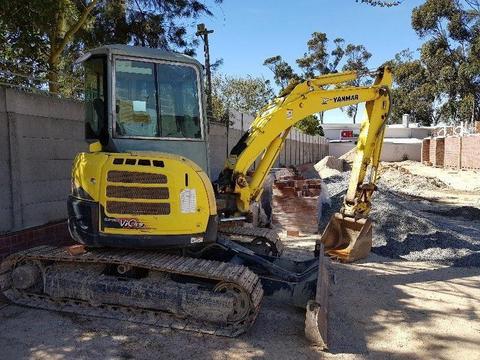 Mini Excavator 5.5 ton Yanmar