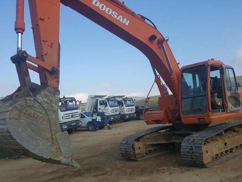 Doosan 225 Solar Excavator