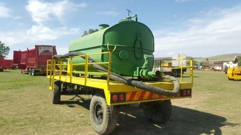 Honey Sucker Tank Trailer