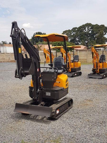 2017 Mini Excavator 1.6Ton