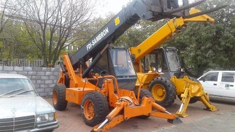 8 x Telescopic handlers for sale ranging from 340k upward