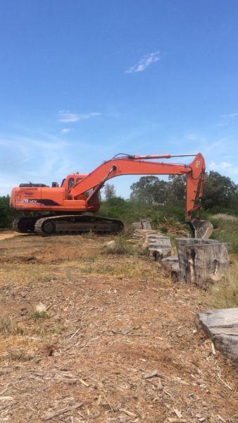 Excavator Doosan 225 lcv