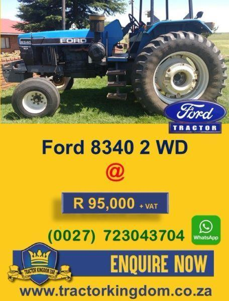 Used Ford 8340 Tractor