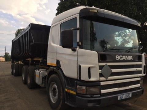 scania p380 double diff