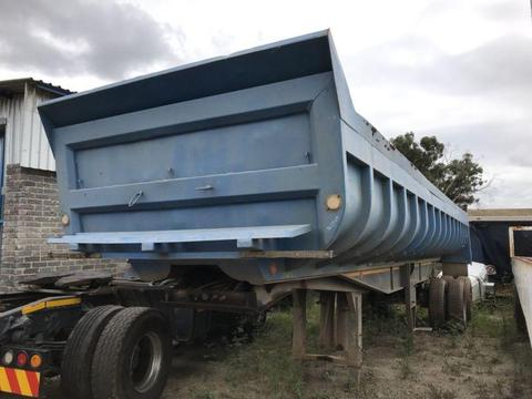 1998 Inline copelyn end tipper