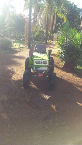 Yanmar Tractor with Slasher