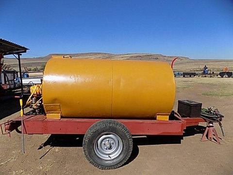 Fire Fighter 2000 Litres water Tanker Trailer