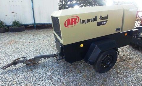 Ingersoll Rand 185CFM Mobile Air Compressor