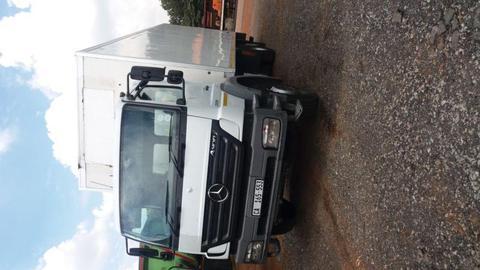 Mercedes Benz Axor 2528 Cargo/Van/Closed Body Truck For Sale