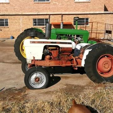 David Brown 885 Tractor