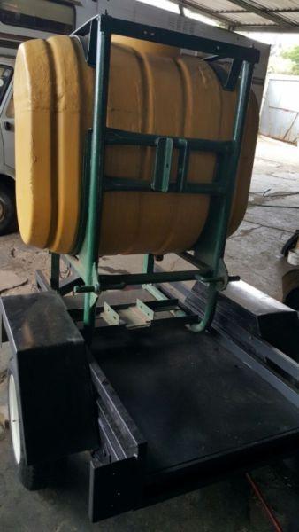 2017 water tank trailer