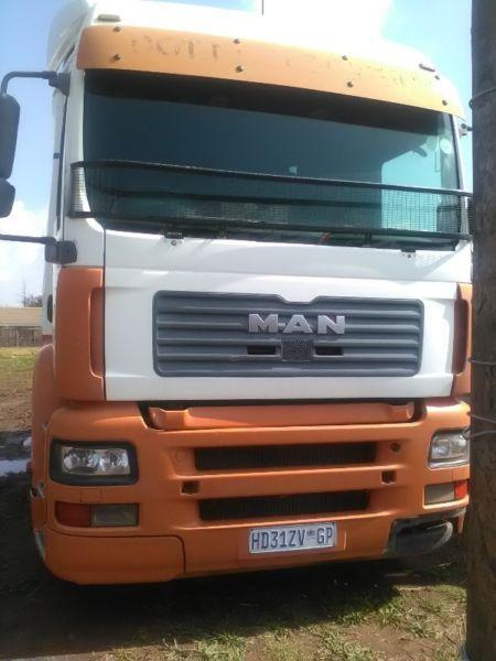Reliable MAN TGA truck tractor