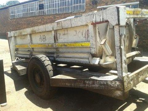 Hydraulic Bottom drop trailer
