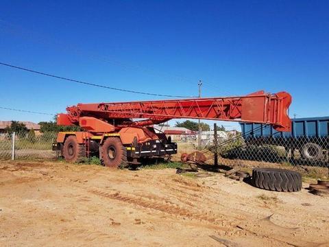 Used P&H Rough Terrain Crane for sale