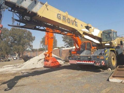 Used Grove RT650E 50 Ton Crane for sale
