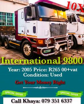 •~• Just Arrived International 9800 Auto Drive •~•