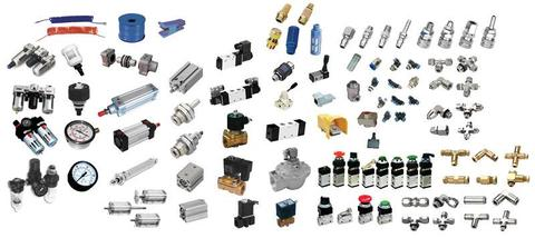 Air fittings and other hydraulic system spare parts 0813450239
