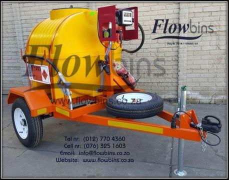 Gauteng: NEW 1000L Diesel Bowser Trailers 12V - Heavy Duty with Papers - from R24 719