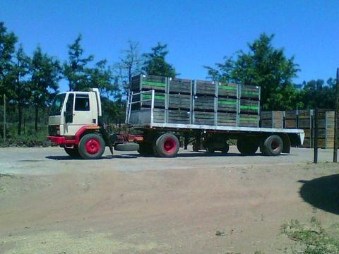 1983 Ford Cargo Truck with trailer