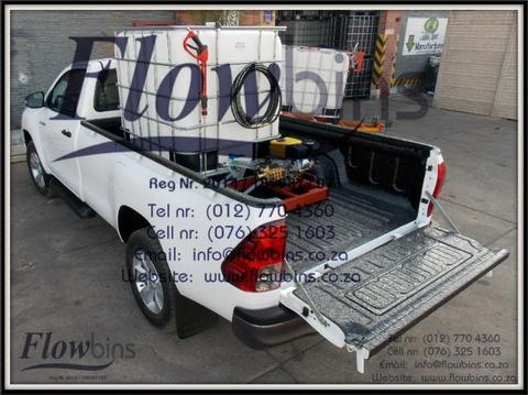 NEW 1000Lt 178Bar Fire Fighter High Pressure - Bakkie Skid & Trailers from R11 290