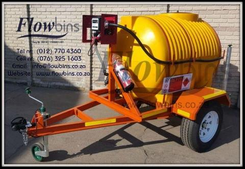 NEW 1000Lt Diesel / Paraffin Bowser 12V Trailer Heavy Duty with Papers from R24 719