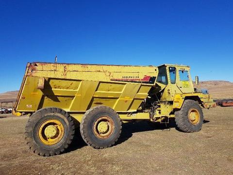 Caterpillar 666B Dumper Truck 6x4