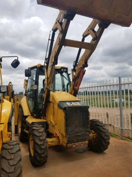Caterpillar 428F Tlb
