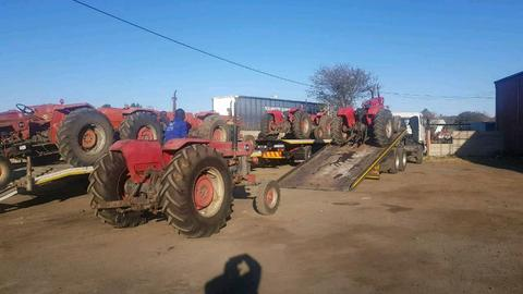 Tractors to rent in South Africa