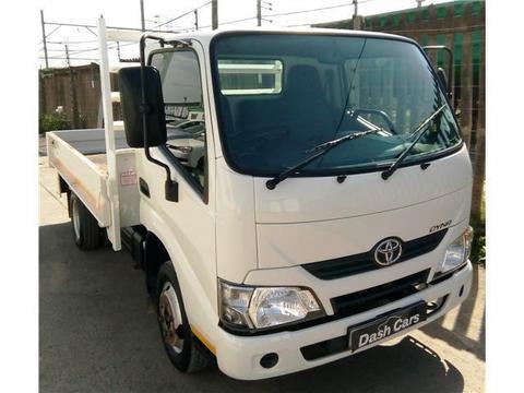 2017 Toyota Dyna 150 Drop-side R 210000 + VAT Cash or R5500 p/m