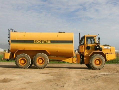 Bell B25B Water Truck