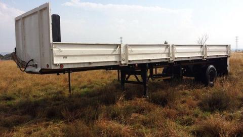 SA Truckbodies Refurbished Trailer