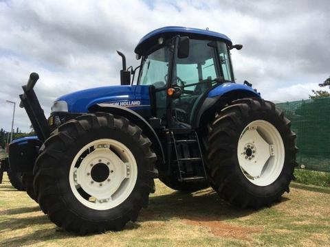 DEMO New Holland TS 6.120 4wd Cab 88kw Tractor for sale - R720 000.00 excl. VAT