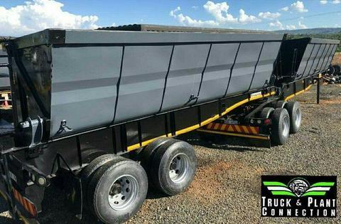 #360/361 Used 2014 Kearneys Payloader side tipper for sale