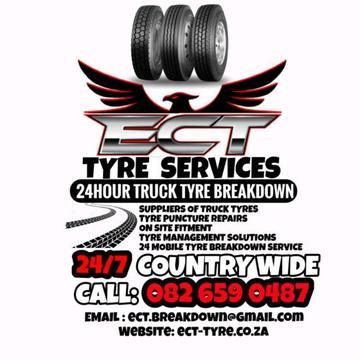 Tyre breakdown service