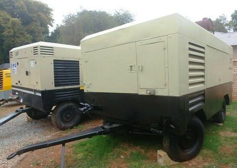 Ingersoll Rand (Doosan) 950 - 1050CFM Diesel Compressors