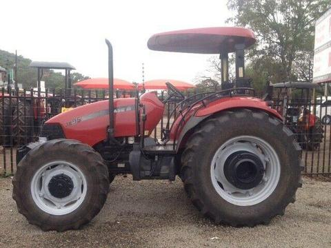 Red CASE IH JX95 70kW/93Hp 4x4 Pre-Owned Tractor
